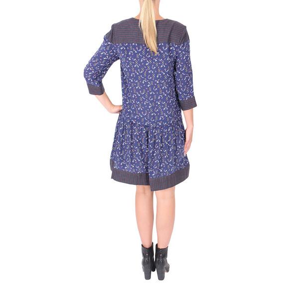 Sea Silk + Stripe Combo Dress