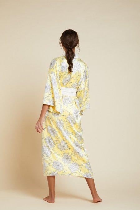 Olivia Von Halle Queenie robe - Kira