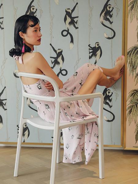 GUKA Michele Dress - Pink