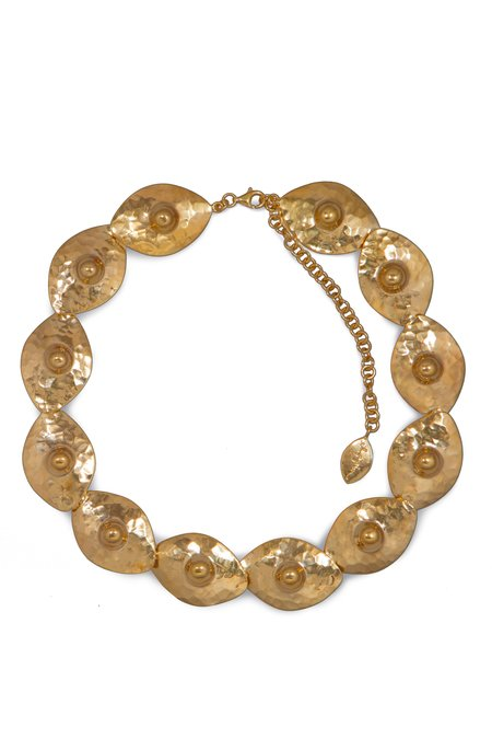 Elppin Dozen Nipple Necklace - Gold