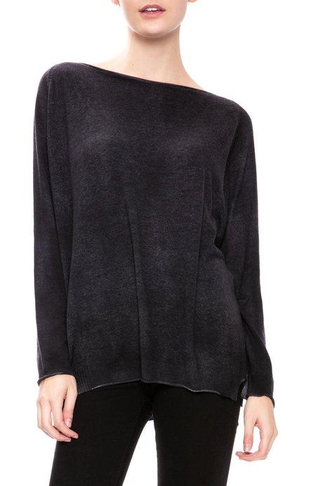 Avant Toi Boatneck Sweater - Nero