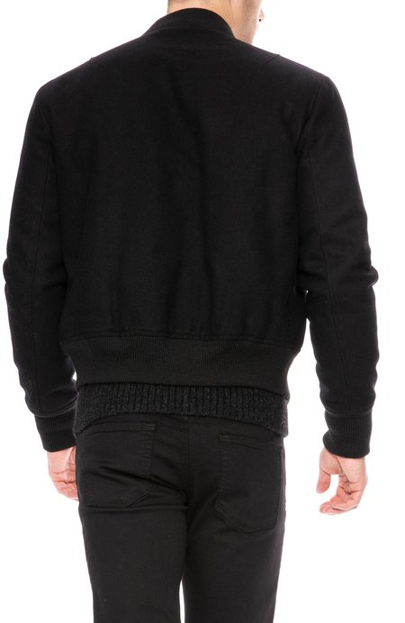 AMI Bomber Jacket with Two Way Zipper