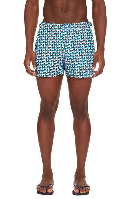 Orlebar Brown Bulldog Barthmann Swim Shorts - Azure