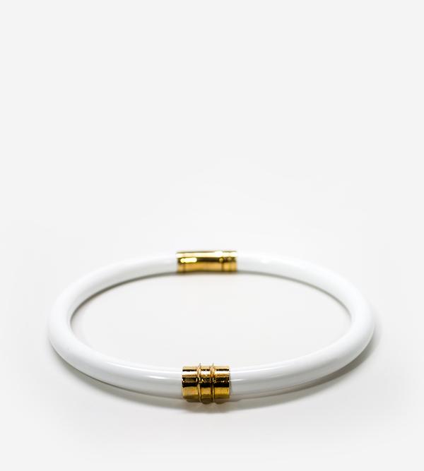 Luz Ortiz Ence White Necklace