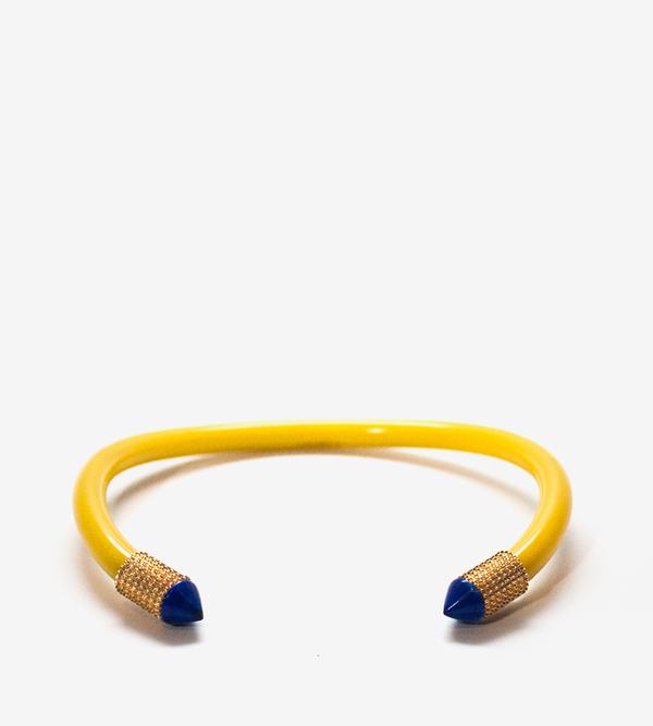 Luz Ortiz Hera Yellow Collar