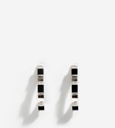 LUZ ORTIZ Cubik Onyx Earrings