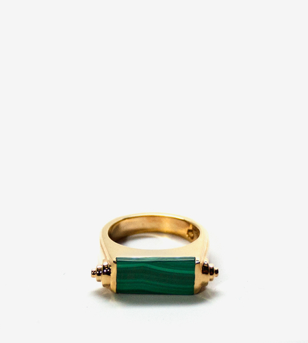 Luz Ortiz Nova Malachite Ring