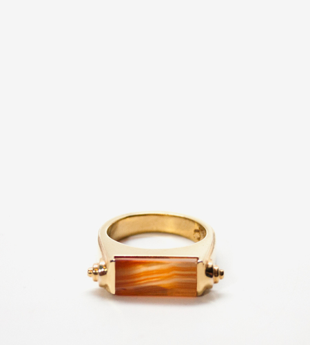 Luz Ortiz Nova Honey Agate Ring