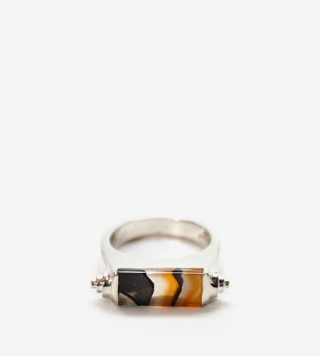 Luz Ortiz Nova Mix Agate Ring