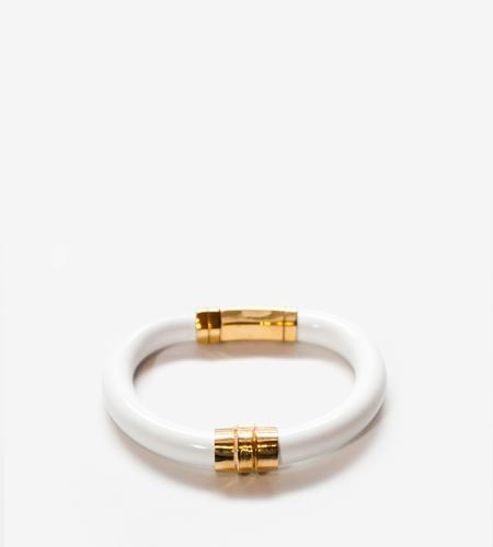 Luz Ortiz Ence White Bracelet