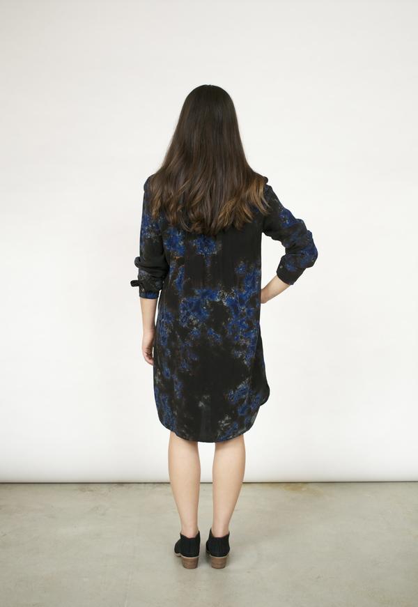 Fifteen Twenty Tie Dye Front Seam Dress