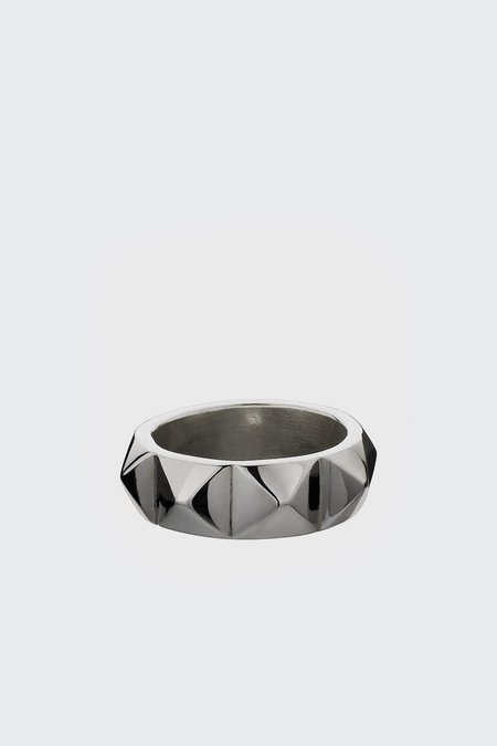 Meadowlark Studded Ring - Silver
