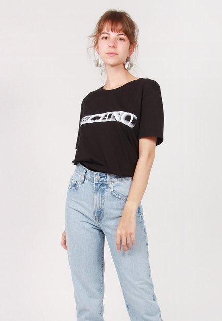 Idea Techno Motion Blur T-Shirt - Black