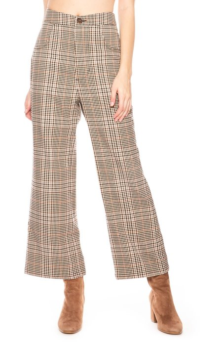 Capulet Jolie Pants - Plaid