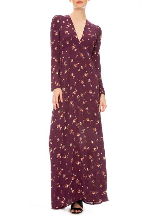 Flynn Skye Kate Wrap Dress - Iris Bloom