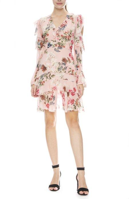 Nicholas Lilac Dress - Floral