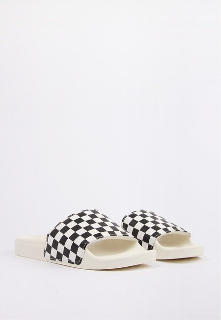 Vans Slide On - White/Black