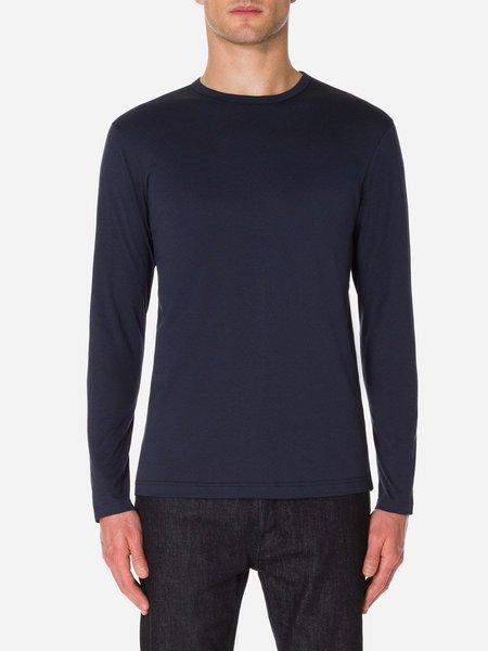 Sunspel Long Sleeve Crew Neck T-Shirt
