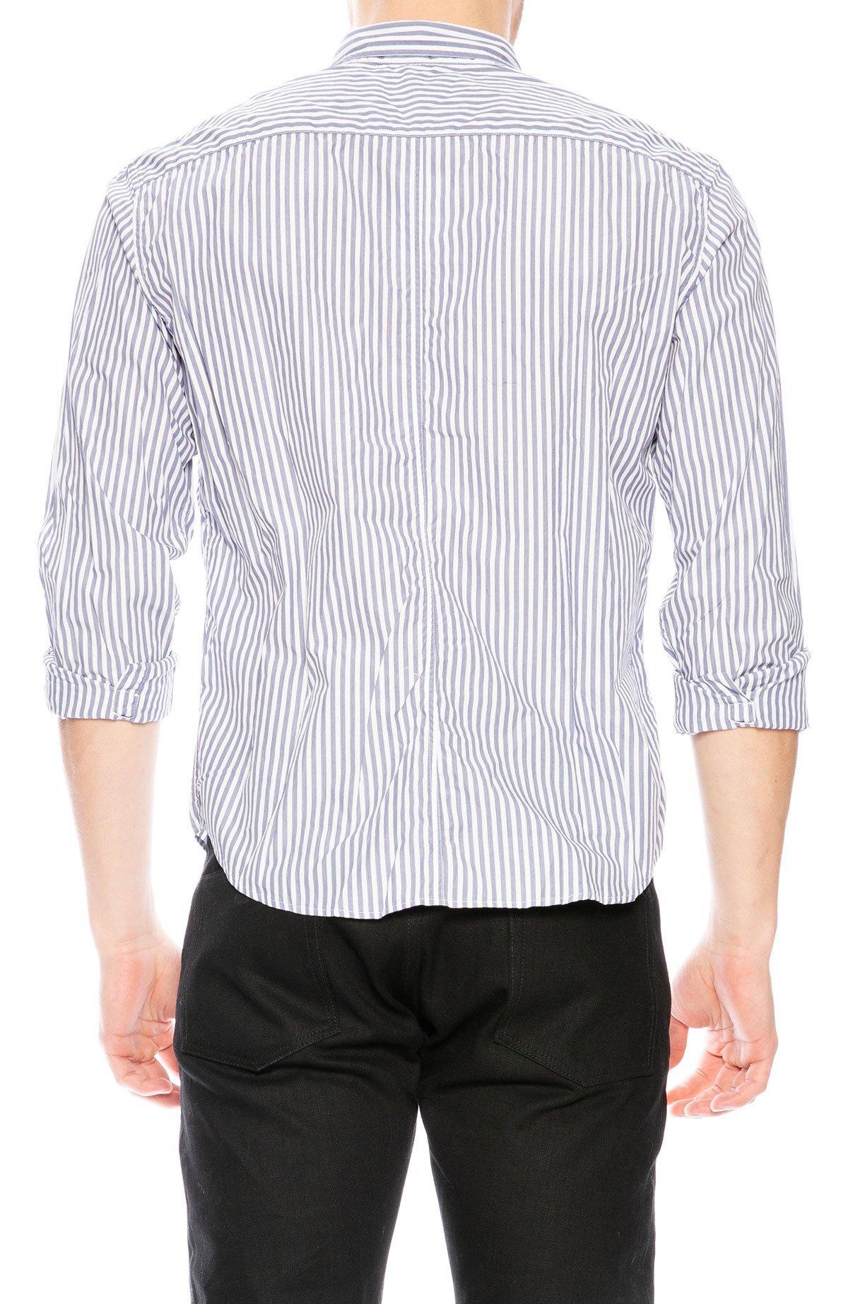 Frank Eileen Luke Stripe Shirt Whiteblue Stripe Garmentory
