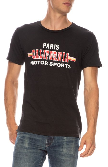Rxmance Paris California Motorsports T-Shirt - Black