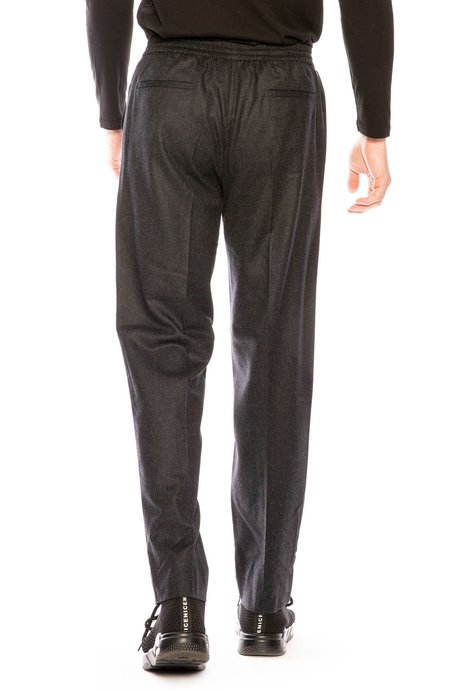 Harmony Paolo Wool Trouser Pants - Dark Grey