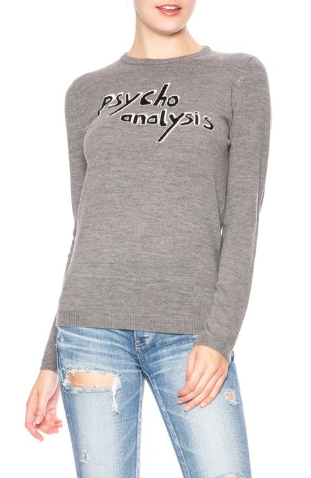 Bella Freud Psycho Analysis Sweater