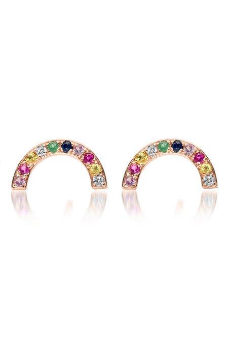 Shain Leyton Rainbow Arch Earrings