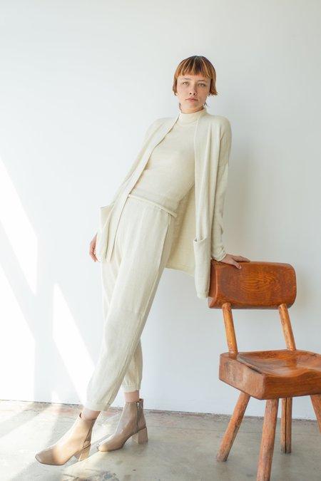 Été Noir Medium Lightweight Trousers - Cream