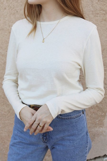 Esby Shea Cashmere Knit - Natural
