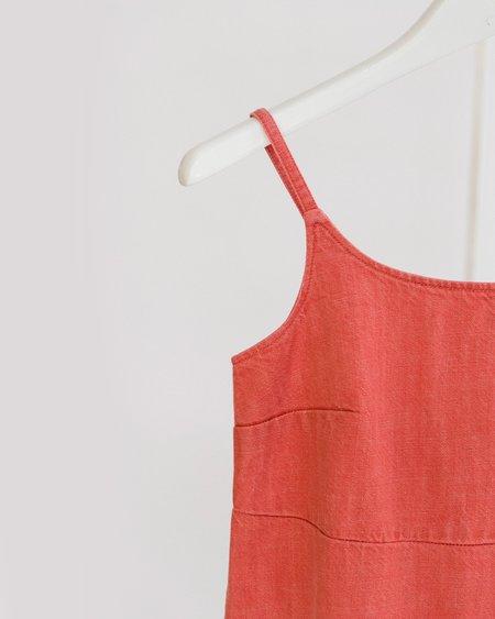 Carleen Charlotte Midi Dress - Red
