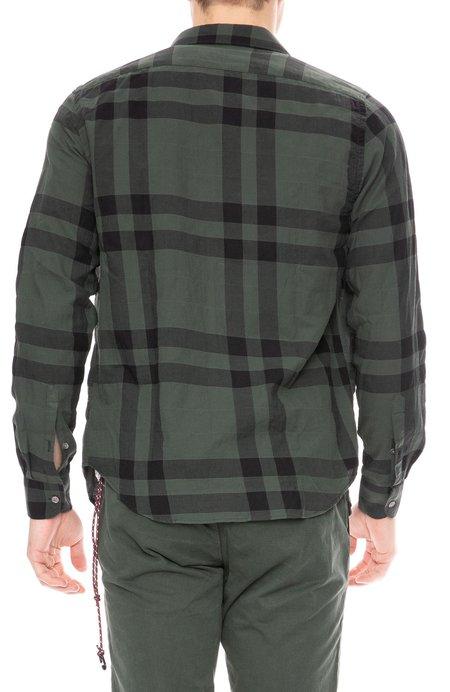 Closed Spread Collar Shirt - Plaid