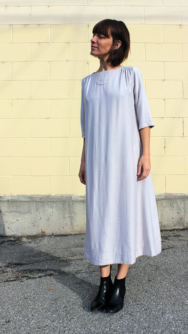 Sunja Link yoke dress