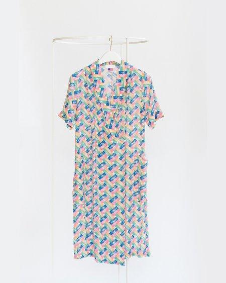 Carleen Marfa Wrap Dress - Hatch