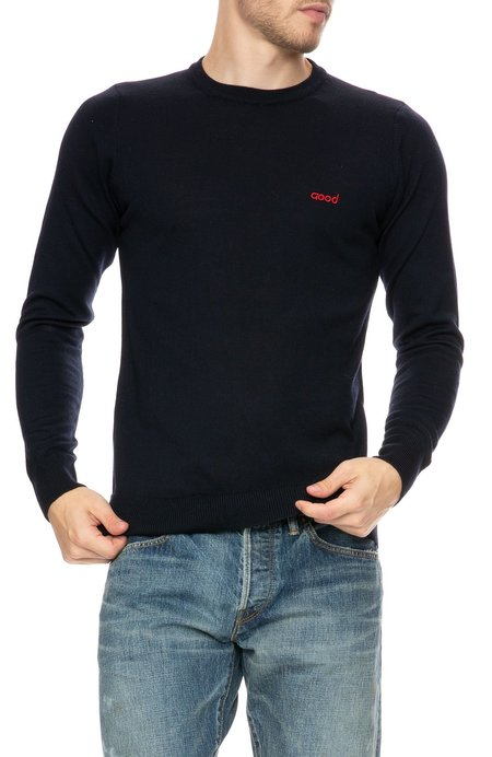 The Goodpeople Studio Wool Logo Sweater
