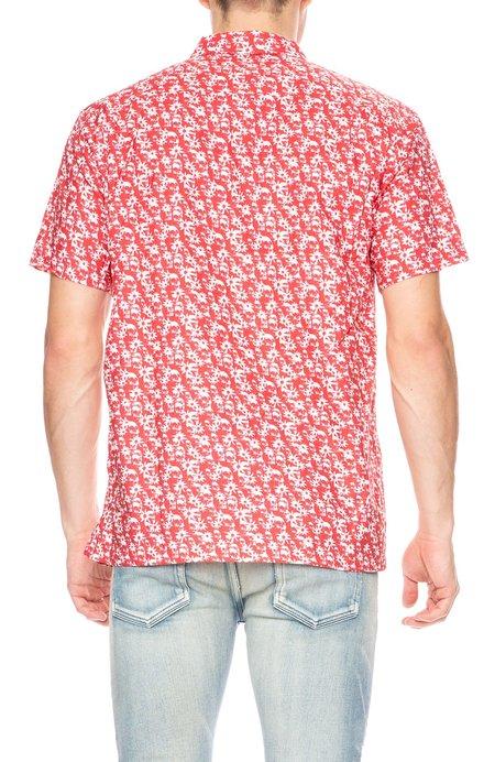 Double Rainbouu Sweet Child Hawaiian Shirt - Dusty Red/White
