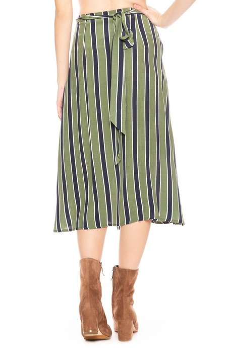Sancia The Lias Skirt - Mira Stripe