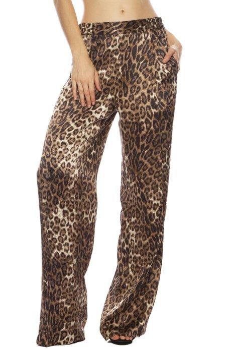 Nili Lotan Vivianna Pant - Leopard Print