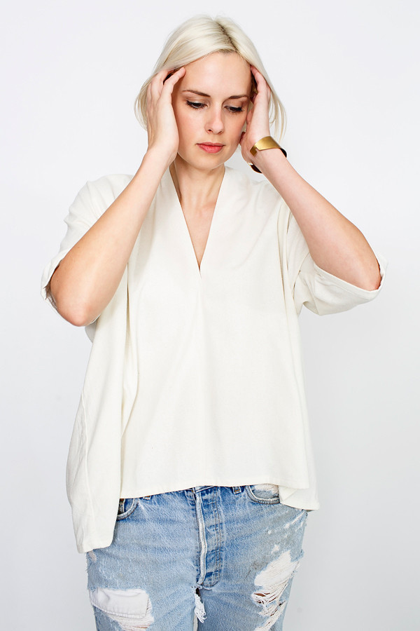 Flash Sale Natural Muse Top, Silk