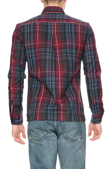 THE GOODPEOPLE Winter Flannel Button Down Shirt - Color Mix