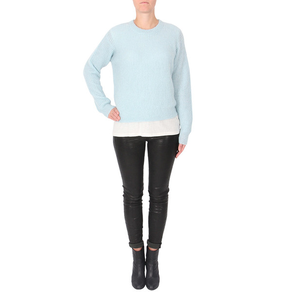 T By Alexander Wang MOHAIR KNIT SWEATER
