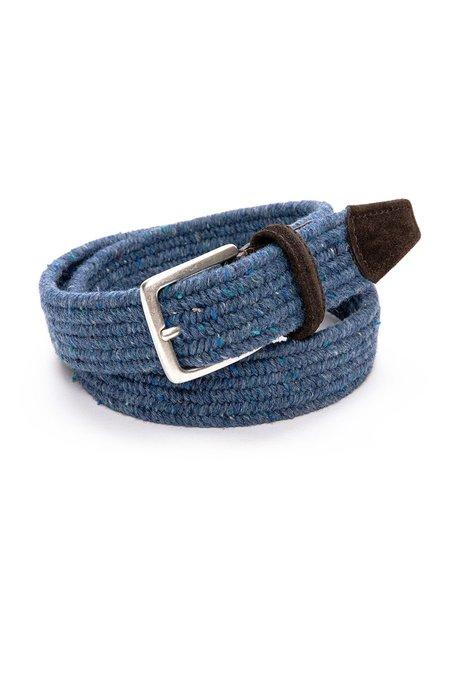 Anderson's Wool Melange Stretch Braided Belt