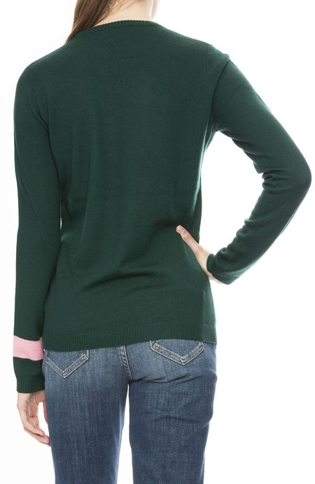 BELLA FREUD Wool Spirit Sweater - Bentley Green