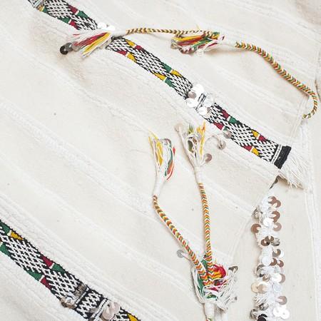 VINTAGE Traditional Handira carpet/Blanket