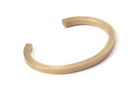 Craighill Uniform Square Cuff - Brass