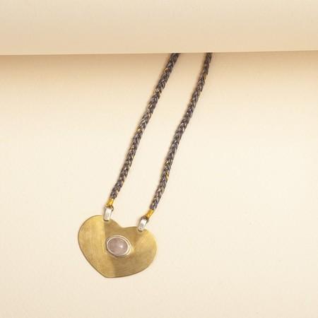 Cooperative de Creation Heart Necklace