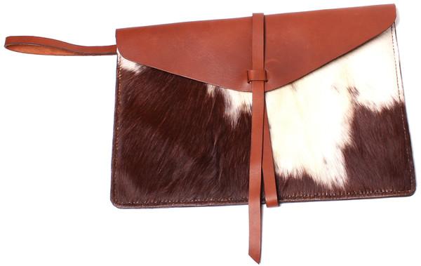 Calf Hair Envelope Clutch