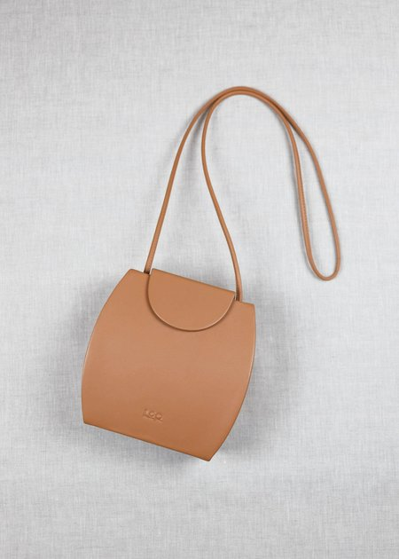 LOQ.US Tia Leather Crossbody - Miel