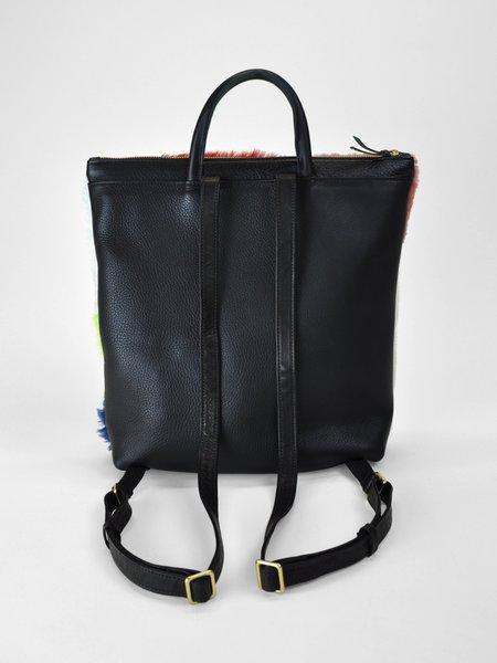 Primecut Patchwork Sheepskin Backpack