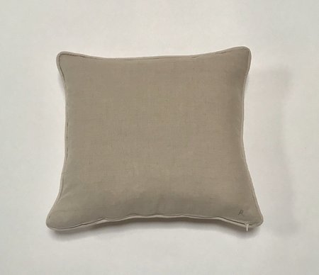 Bianca and Red Studio Square Pillow - White/Red
