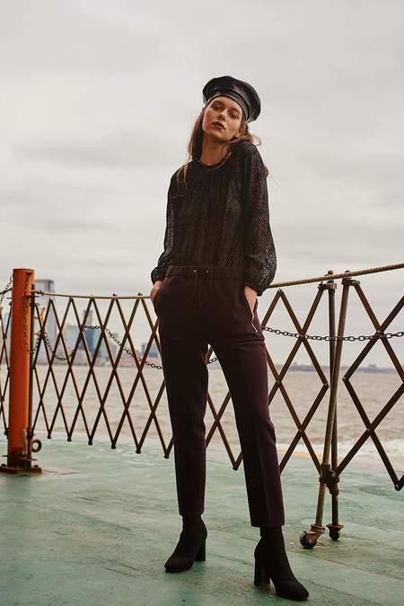 Enda Belinda top - BLACK